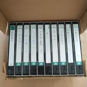 老录像带:西点揭密、刘福客栈、巴马修道院、小妇人、茶花女、主教的妻子、沉默的羔羊(10盒合售)