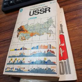 【1967年英文原版】a geography of the U.S.S.R,苏联地理,鹈鹕原版
