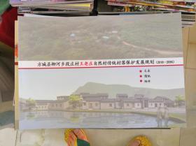 方城县柳河乡段庄村王老庄自然村传统村落保护发展规划(2018-2035)