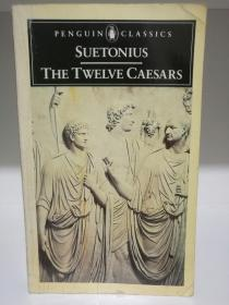 The Twelve Caesars by Suetonius (罗马史)英文原版书
