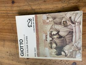 3252:《GIOTTO THE LIFE AND WORK OF THE ARTIST ILLUSSSTRATED WITH 80 COLOUR PLAATES 》乔托 80幅作品,有英文签名