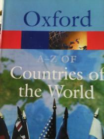 Oxford A-Z of countries of the world