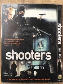 实拍 英国 荷兰 美国 神枪手 shooters (2002) DVD 射手 阿德里安·敦巴 Adrian Dunbar