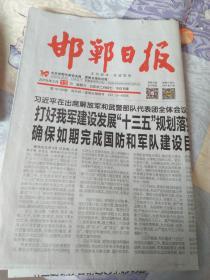 邯郸日报2019年3月13日,大名县邓丽君小镇报道