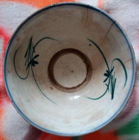 民国青花碗,陈佩斯小品中吃面条相似的碗