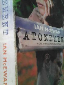 英文原版Atonement,赎罪[平装]