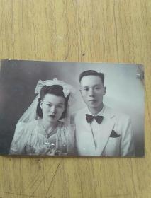 老照片结婚照
