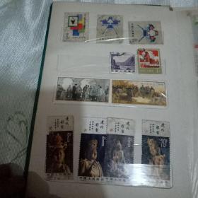 邮票(136)张