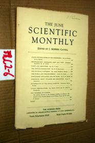 SCIENTIFIC MONTHLY 科学月刊1930年6月 多图片