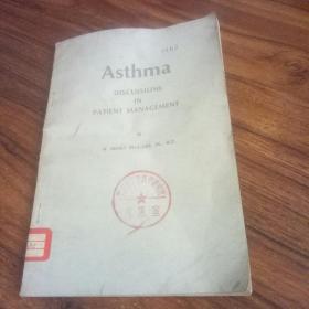 【英文原版 哮喘】asthma discussions in patient management