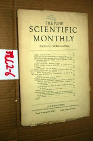 SCIENTIFIC MONTHLY 科学月刊1934年6月 多图片