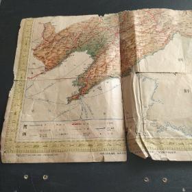 东北交通图 (1963年一版一印,折叠版)一部分
