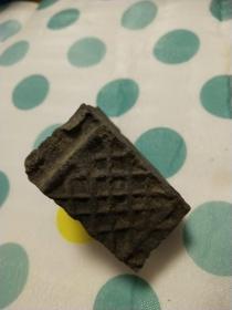 网格明代砖一块适合做案边镇纸碎瓷片量大包邮