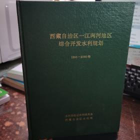 西藏自治州区一江两河综合开发水利规划1991-2000年