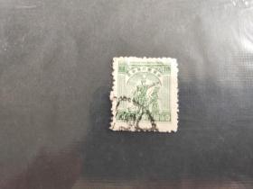 解放区革命根据地邮票 中华邮政华中区 拾圆10元