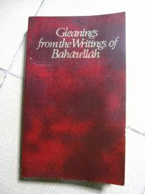 Gleanings fromthe Writings of Bahaullah【英文原版】
