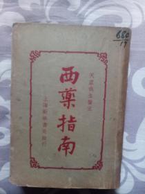 西药指南(上卷,民国版)