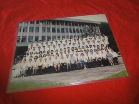 广州暨南大学医学院八七级毕业合影彩色照片一张