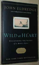 英文原版书 Wild at Heart : Discovering the Secret of a Mans Soul / 2010 Revised and Expanded by John Eldredge  (Author)