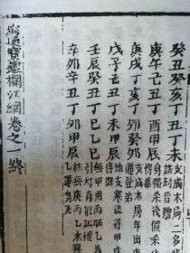 穷通宝鑑(卷一、卷二)【A4纸正反面复印版】