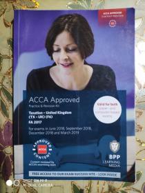 正版  ACCA Taxation-UK (TX-UK) (F6) FA 2017 Practice &Revision Kit For exams in June 2018,September 2018,December 2018and March 2019 9781509715381