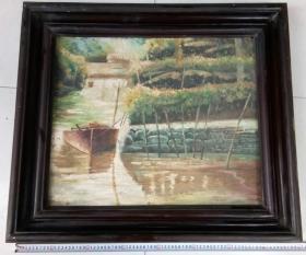 七八十年代油画之二:风景