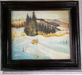七八十年代油画之一:羊