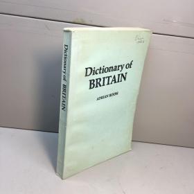 Dictionary of BRITAIN 英国风俗词典