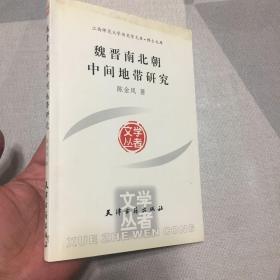 魏晋南北朝中间地带研究/学者文丛