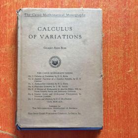 CALCULUS OF VARIATIONS【精装】