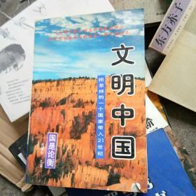 文明中国:把怎样的一个国家带入21世纪