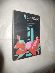 大家族 上海译文出版社