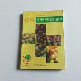 葡萄快速丰产优质栽培技术