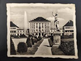 老 照片 德国 慕尼黑宁芬堡宫
