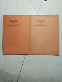 THE   CHINESE  JOURNAL  OF   BOTANY    中國植物學雜志  1936 VOL.1NO.1-2 共2冊