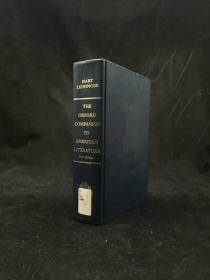1996年 The Oxford Companion to American Literature by James D. Hart 精装