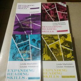Developing Reading Skills/Expanding Reading Skills (Intermediate/Advanced/beginning).四册合售