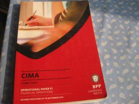 CIMA  STUDY TEXT  OPERATIONAL PAPER F1 FINANCIAL OPERATIONS