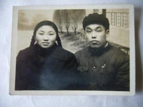 五十年代的青年夫妇照