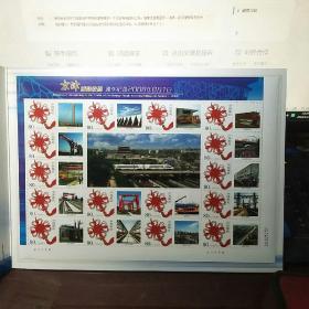 京津冀城际铁路 通车纪念2008年8月1日