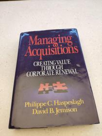 Managing Acquisitions