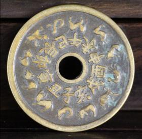 铜钱 铜币 十二生肖