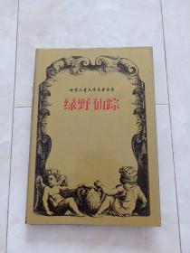 世界儿童文学名著全集《绿野仙踪》32开 精装+护封,1997年1版1印,印6000册。