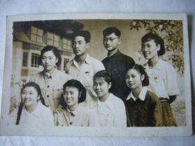 建国初期合影照:那时我们正年轻