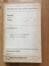Vincent versus Texas  Vol.12 No.8