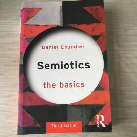 Semiotics the basics signs symbols symbolism signs of language sociology 符号学 英文原版