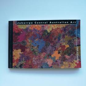 英文原版 Jukurrpa Central Australian Art 澳大利亚 原住民 艺术家 明信片 20张