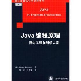 Java编程原理:面向工程和科学人员