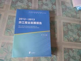 浙江报业发展报告2012--2013