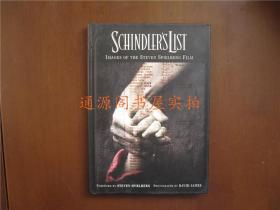英文版:Schindlers List   Images of the Steven Spielberg Film(辛德勒名单)(32开精装,无印章字迹勾画)
